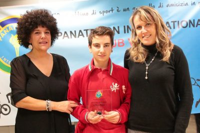 Premio Anni Verdi all'allievo Simone Benin